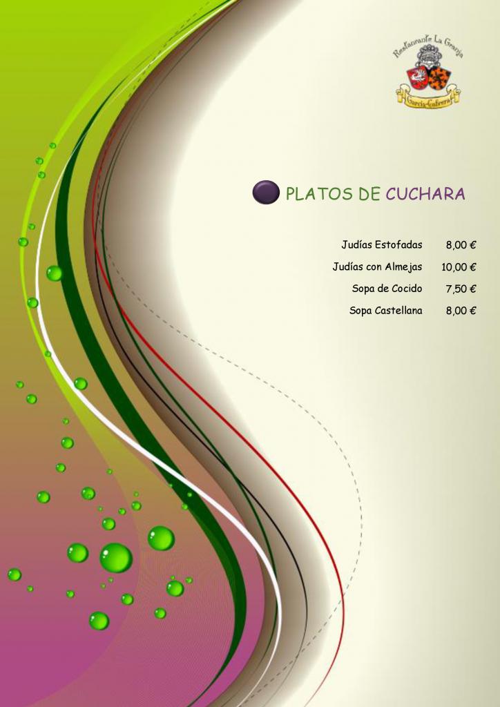 Platos de Cuchara