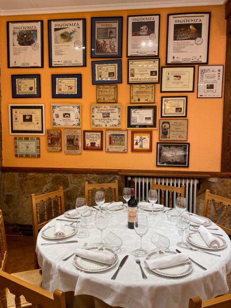 Premios de Restaurante La Granja de Alcuneza