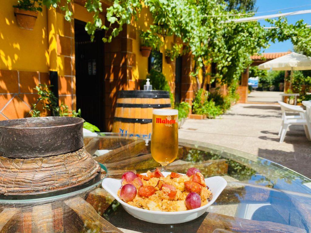 Terraza de Verano de Restaurante La Granja de Alcuneza